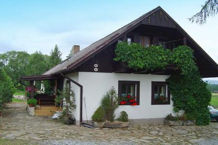 Chata k pronájmu v Olšině v jižních Čechách